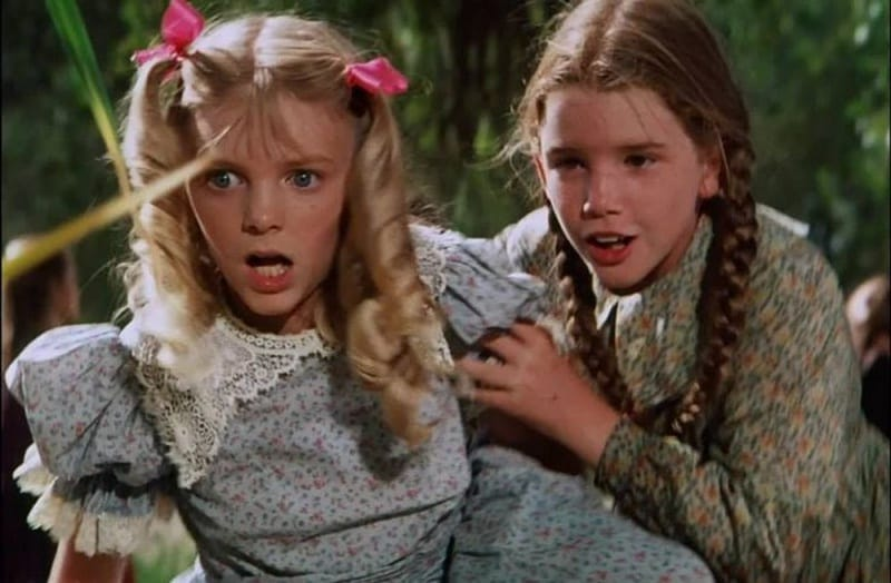 little house on the prairie nellie oleson laura ingalls