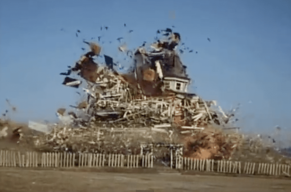 little house on the prairie explosion