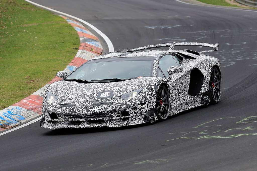 Lamborghini Aventador SV Jota Unveiled With Psychedelic Paint Job
