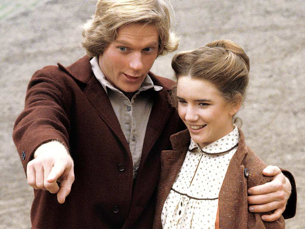 Image result for little house on the prairie dean butler and melissa gilbert