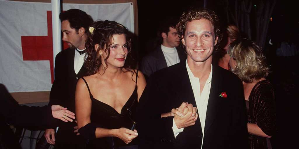 Sandra Bullock and Matthew McConaughey