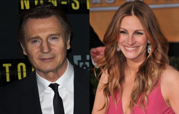 Liam neeson dating julia roberts