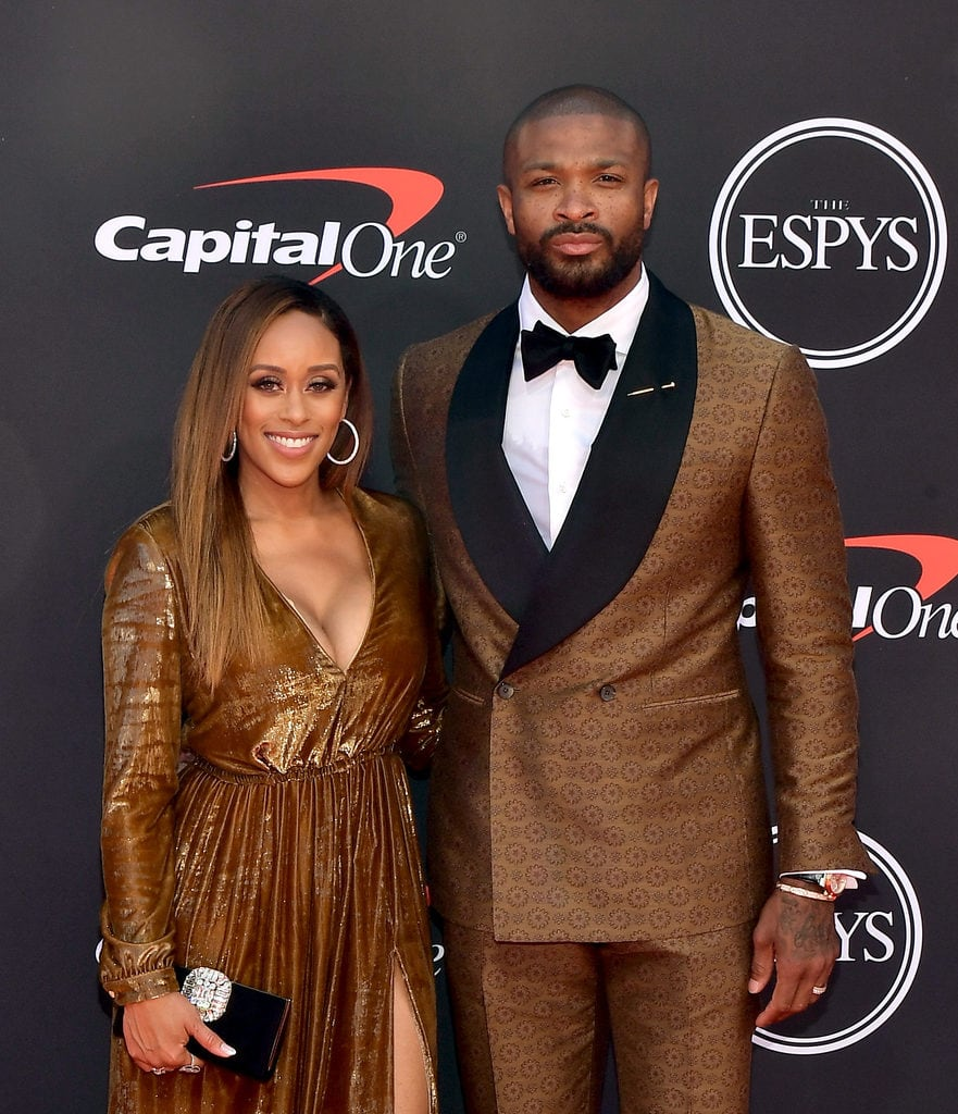 Players famous wives with nba NBA players
