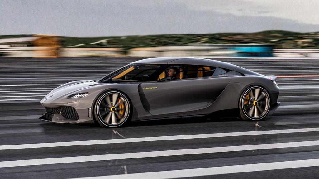 Koenigsegg's Gemera