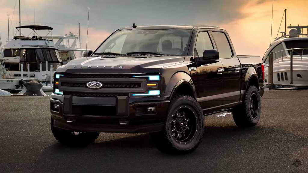 New Ford F-150 in 2021