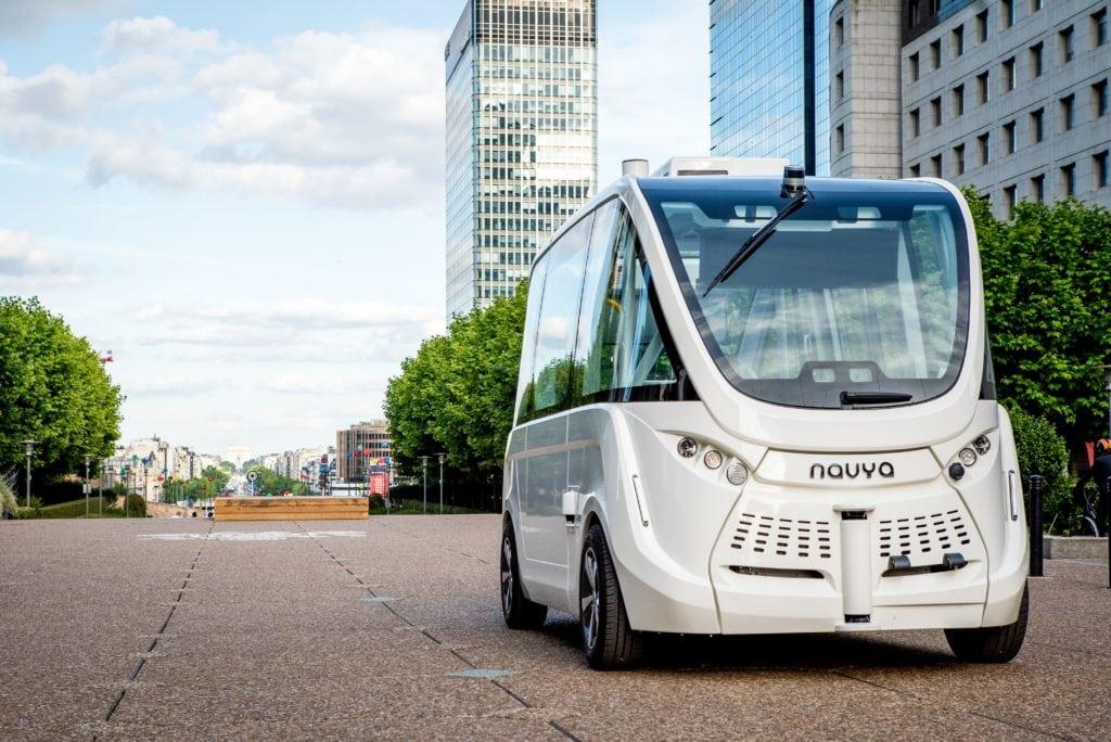 NAVYA - Automated Public Transportation