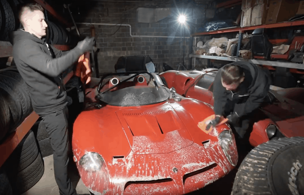 The Bizzarrini P538 Restoration Process