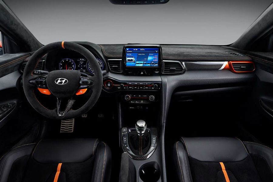Hyundai Veloster N's Interior