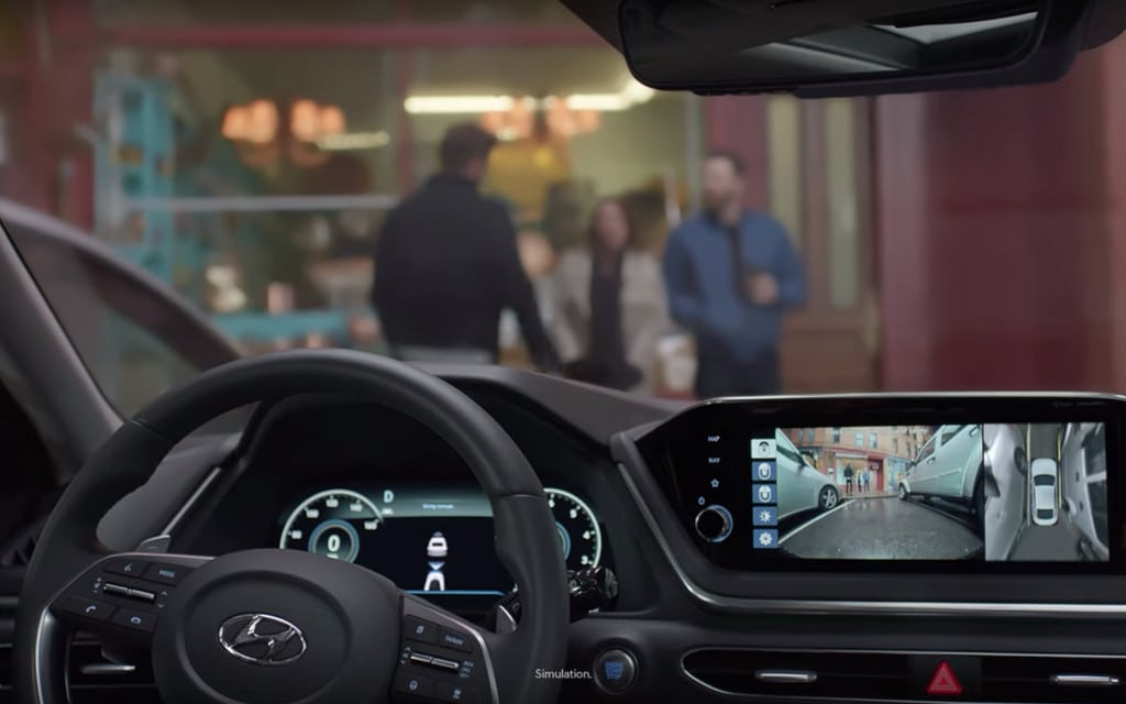 Hyundai's Smart Park Tech
