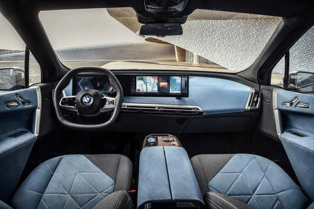 BMW iX Interior