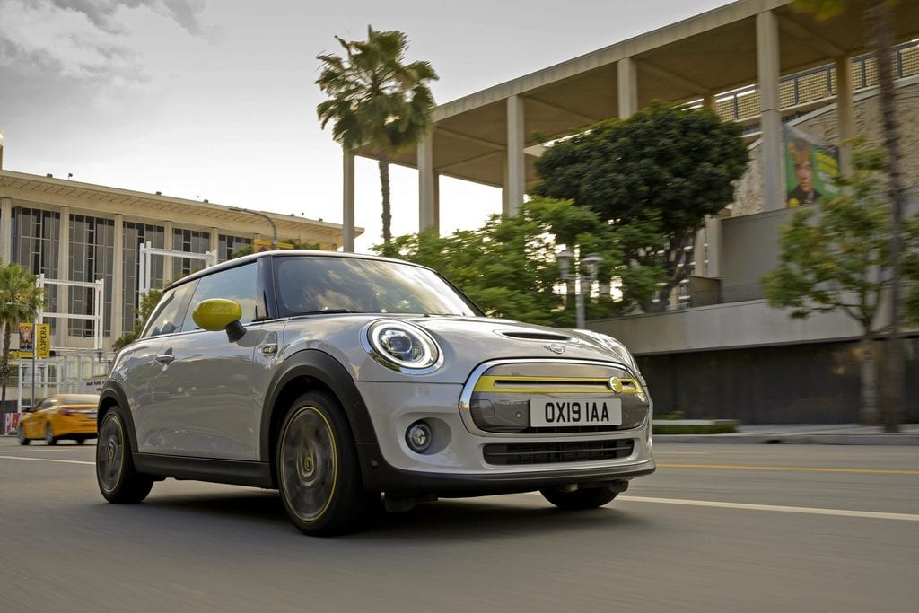 New Electric Mini Cooper