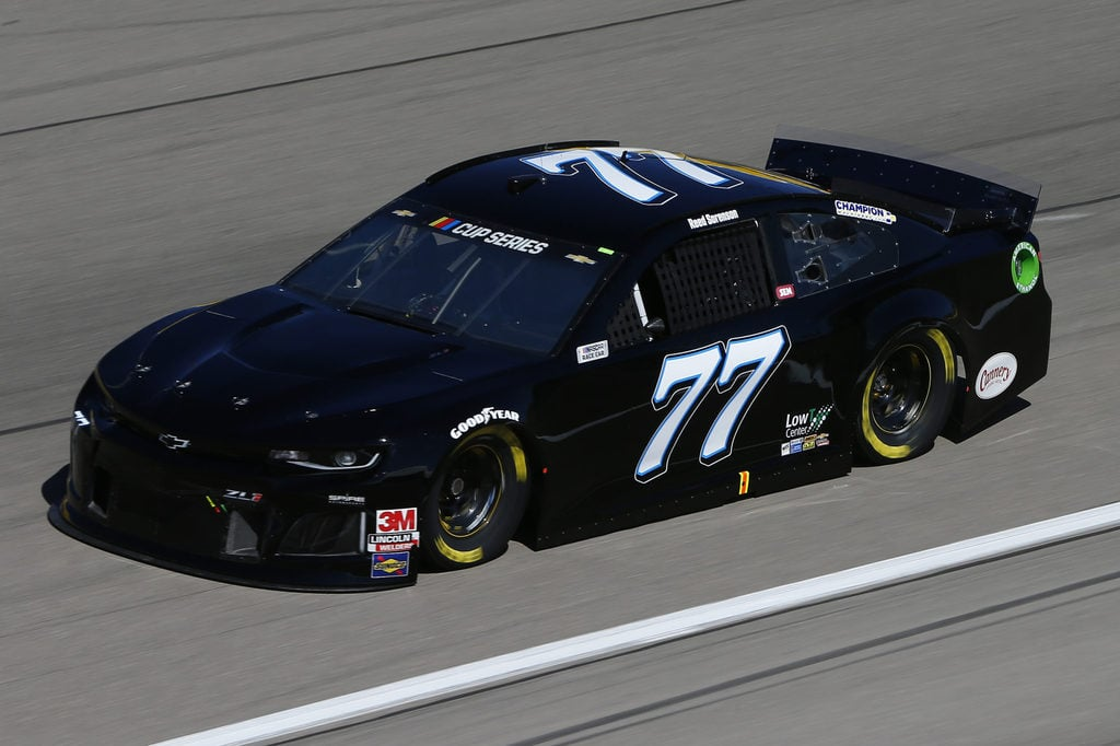 Reed Sorenson, driver of the #77 Chevrolet, drives during practice for the NASCAR Cup Series at Las Vegas Motor Speedway on February 21, 2020 in Las Vegas, Nevada