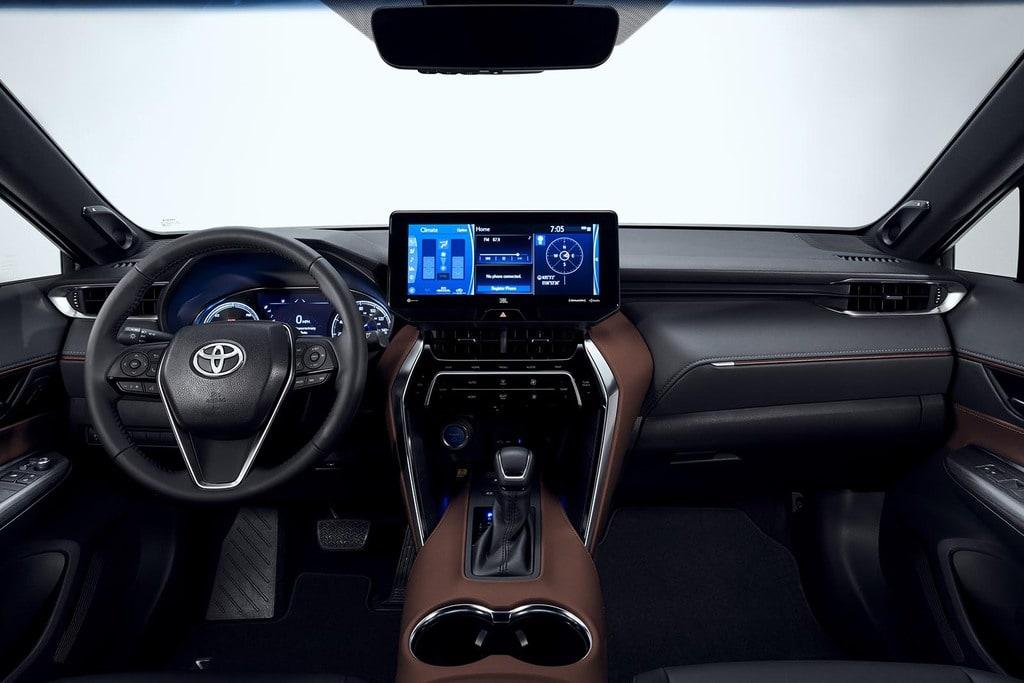 Toyota Venza 2021's interior