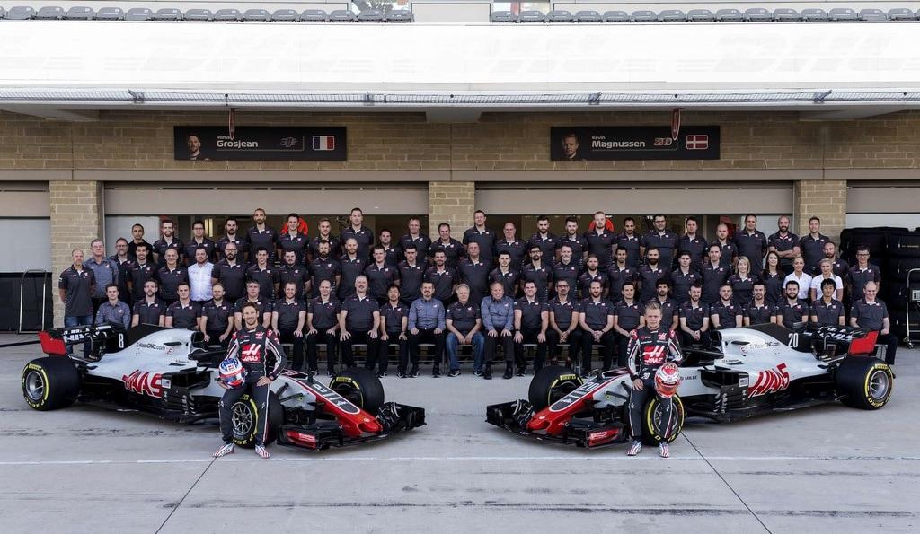 The Haas Formula 1 Team