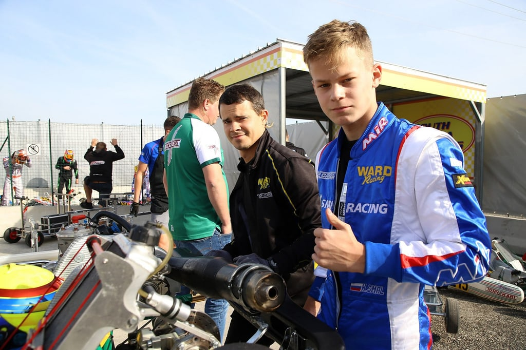 Nikita Bedrin during his time as an SMP Racing junior driver.