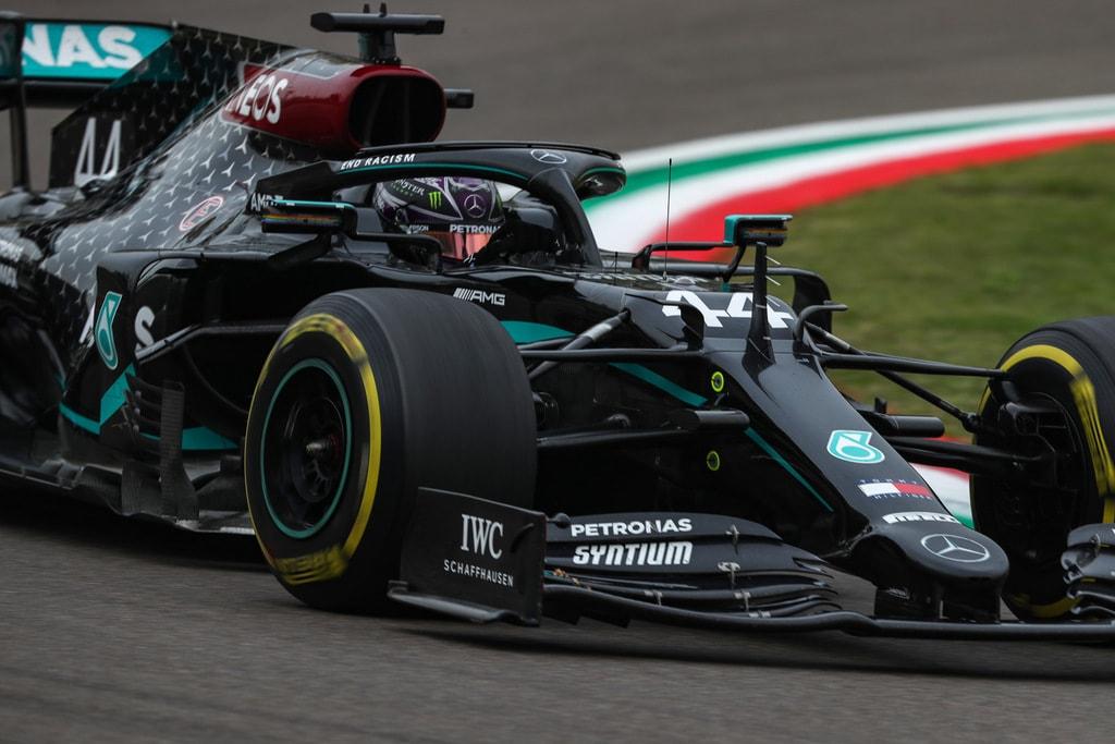 Mercedes Benz F1 Negro