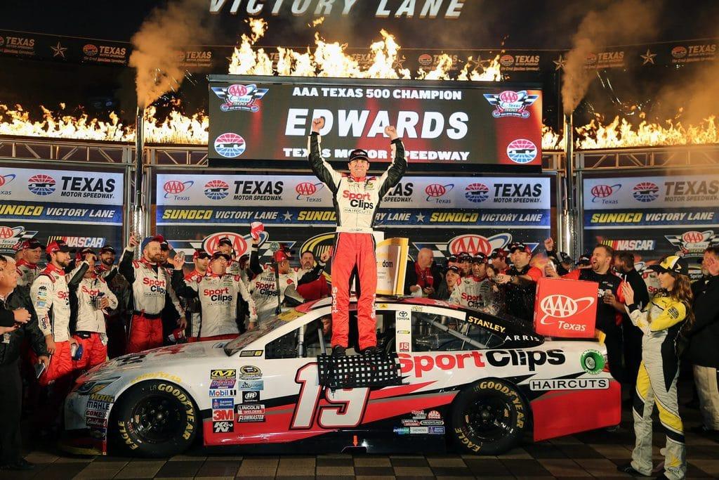Carl Edwards on Texas 500 Champion