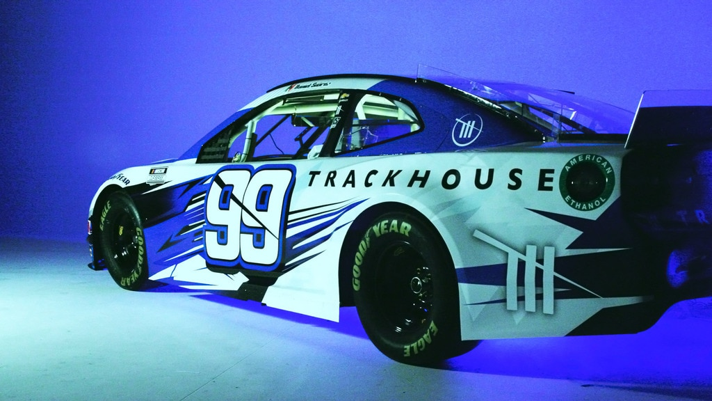 The Trackhouse Racing car, No 99