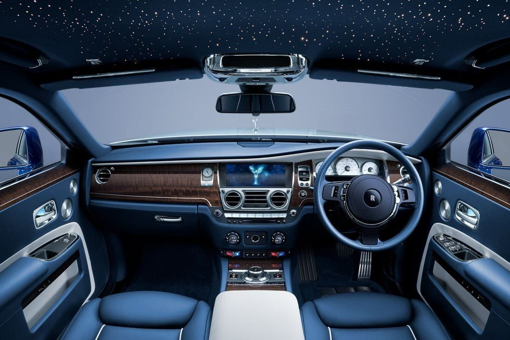 The New Rolls-Royce Ghost, the interior