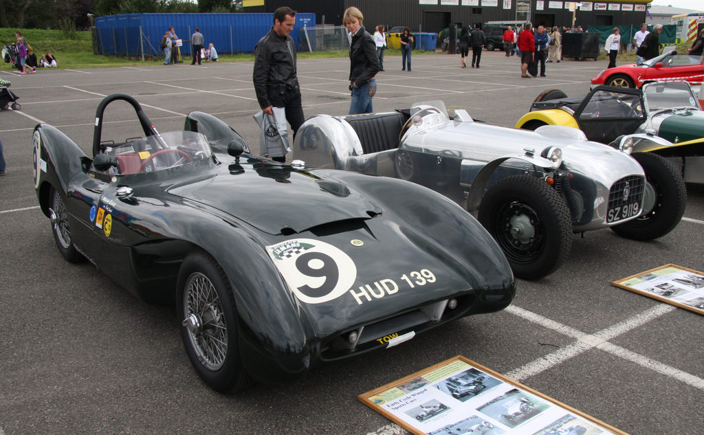 The Lotus Mark IX used for the 1955 24 Hours of Le Mans.