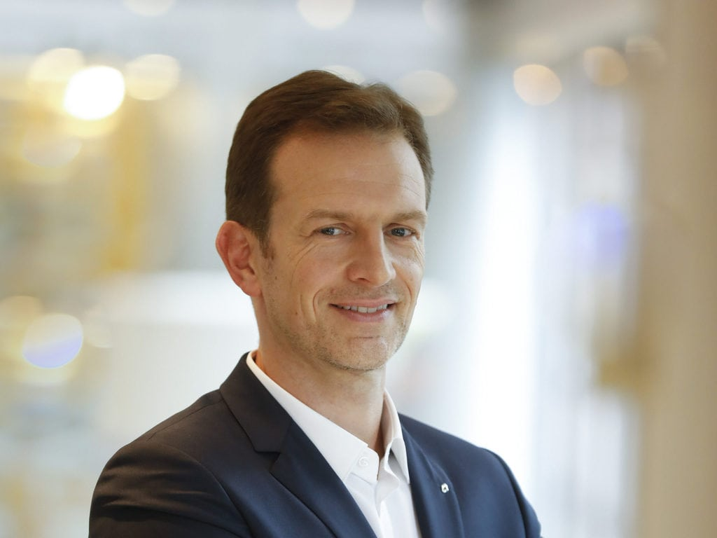 Laurent Rossi, Alpine's new Chief Executive Officer.