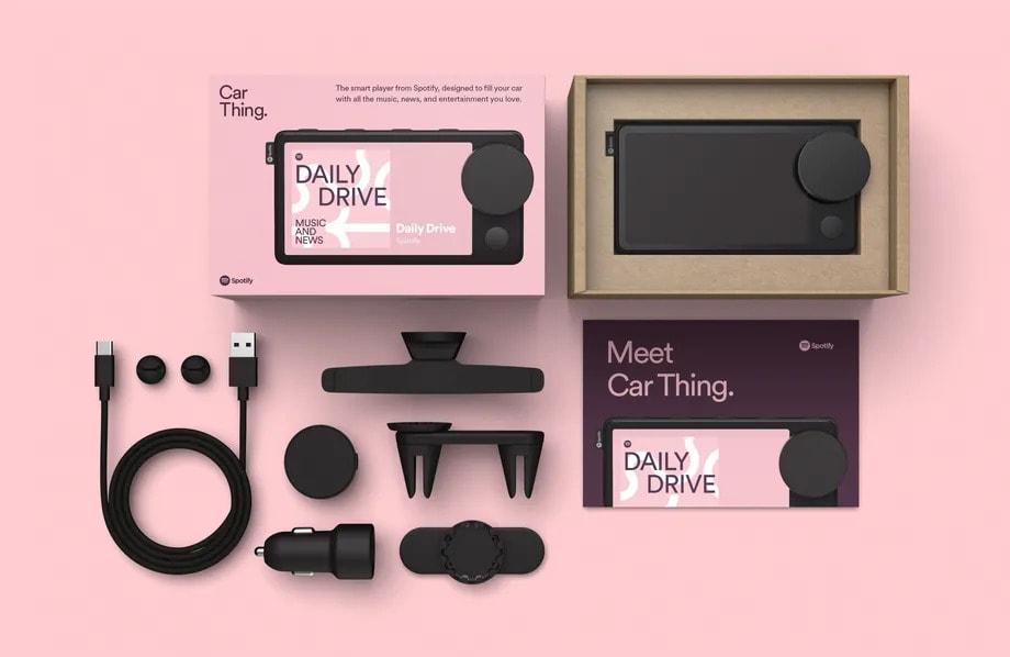 Car Thing's shipping setup
