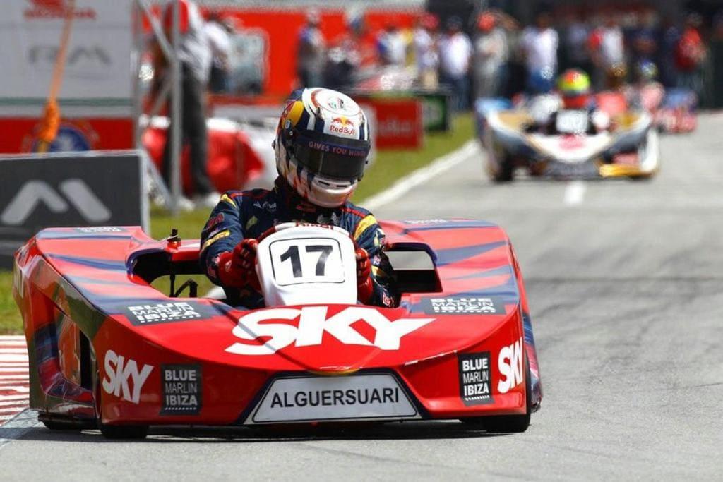 Jaime Alguersuari Wins the Felipe Massa's Annual Karting Event, 2011