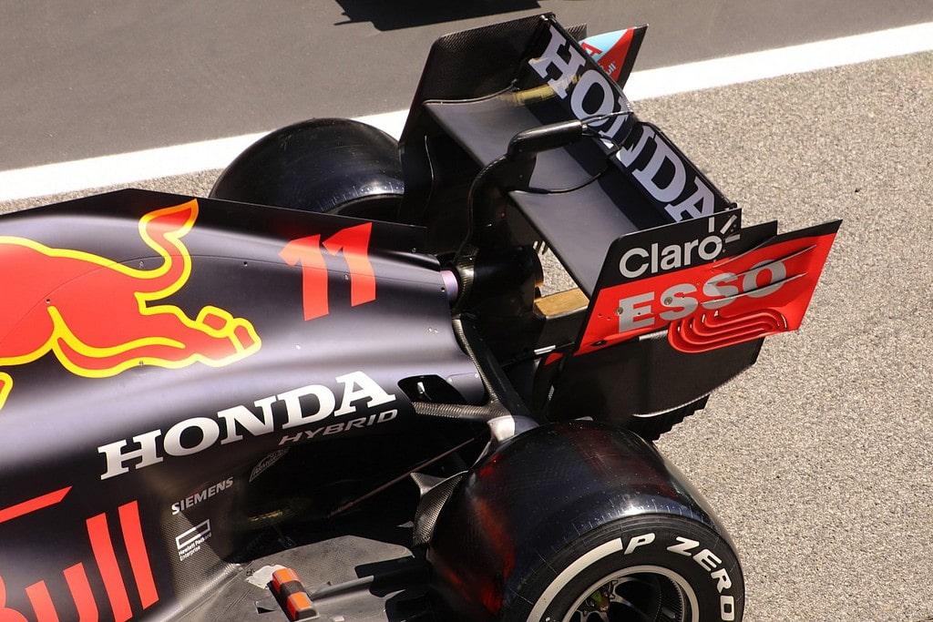 Red Bull Racing Honda's Wing Design