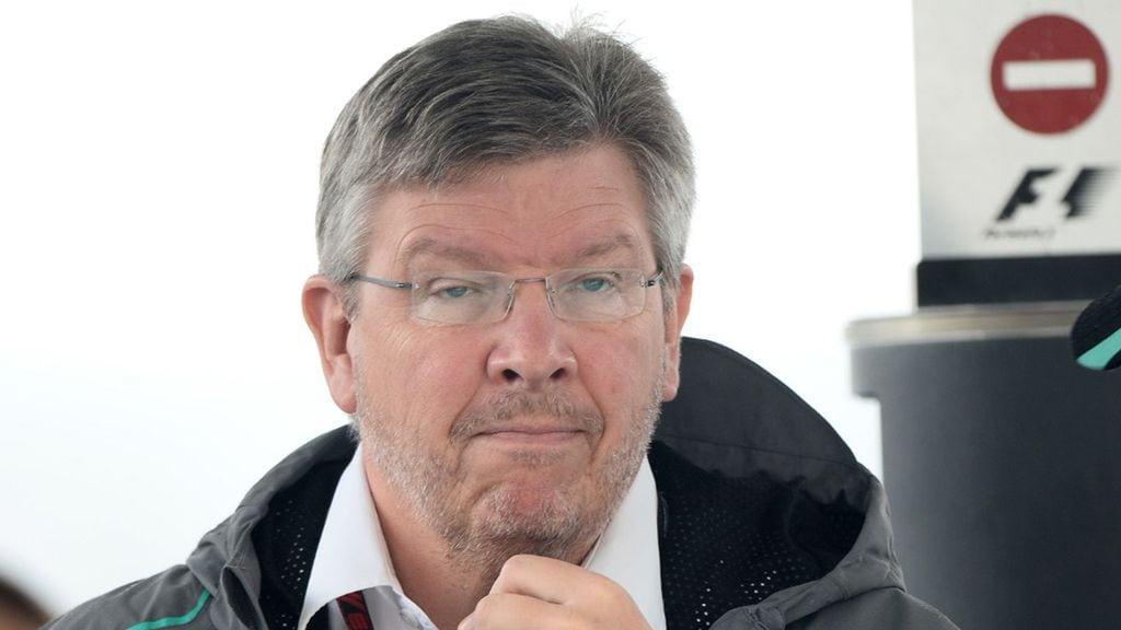 Formula One's managing director of motorsports, Ross Brawn.